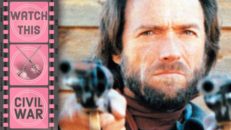 The Civil War gets personal for Clint Eastwood in this