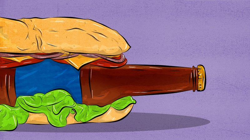Illustration for article titled Beer For Breakfast, Lunch, And Dinner: A Crohn's Disease Tasting Menu