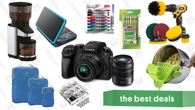 Tuesday s Best Deals: Nintendo 2DS XL, Under Armour, Drill Brush, and More