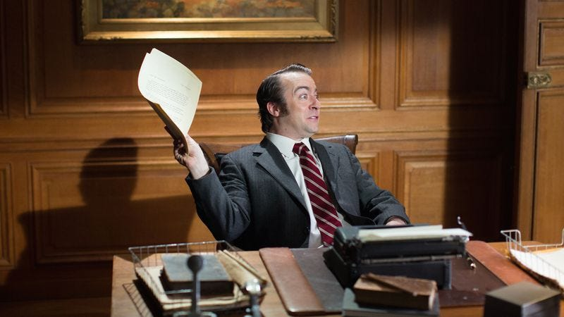 Derek Waters as CS Forester in an upcoming episode of Drunk History