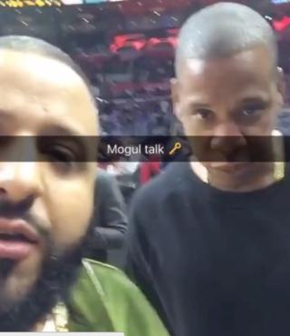 DJ Khaled and Jay ZInstagram