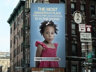 Illustration for article titled PPNYC Statement on Abortion Billboard Targeting African-Americans in NYC
