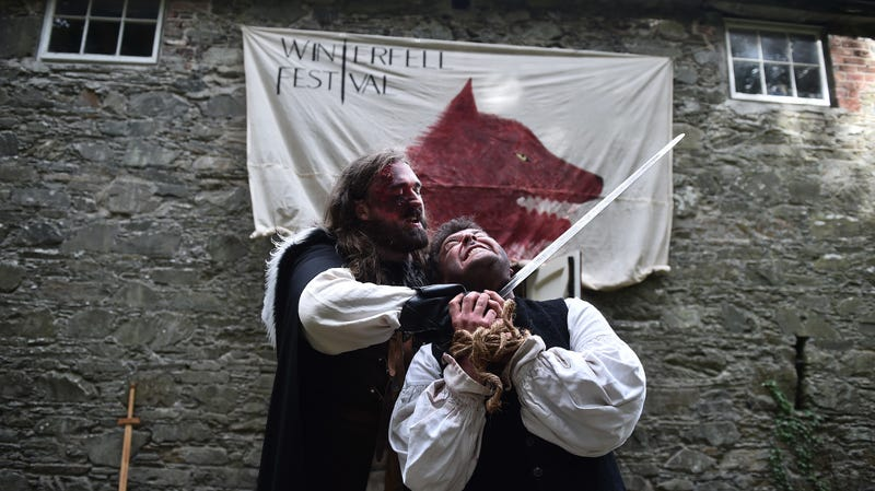 """There's already a """"Winterfell Festival"""" in Northern Ireland."""