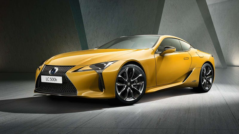 Illustration for article titled The Lexus LC 500 Gets a Very Yellow Limited Edition
