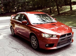 Illustration for article titled Mitsubishi Lancer Evo X FQ400 On The Way