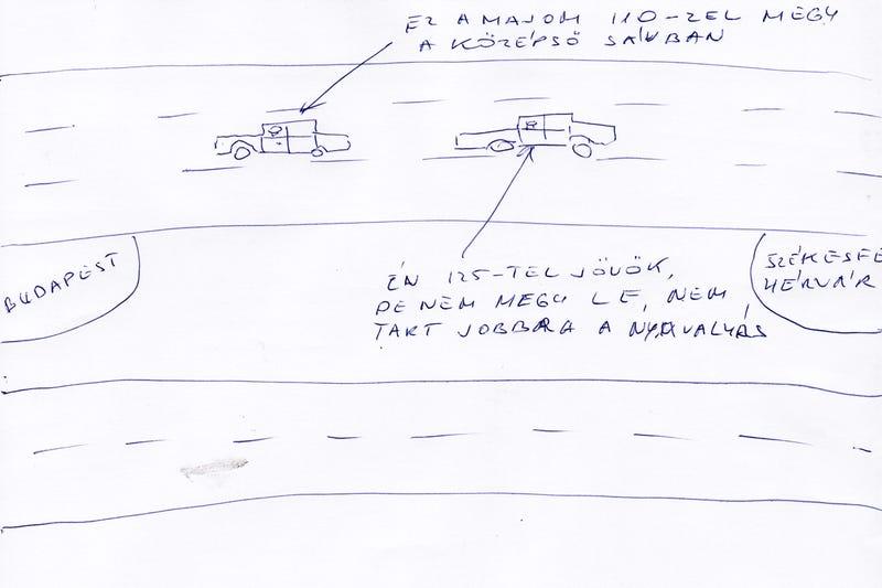 Illustration for article titled A 3 legdühítőbb görénység vezetés (azaz közlekedés) közben