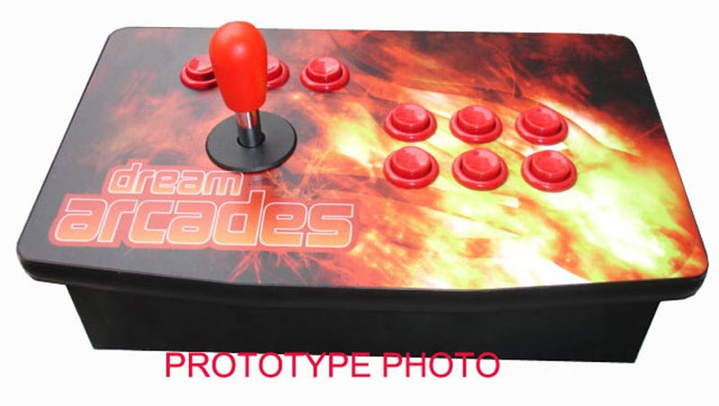 Illustration for article titled Dream Arcades Xbox 360 Fight Stick Takes SFIV Wireless
