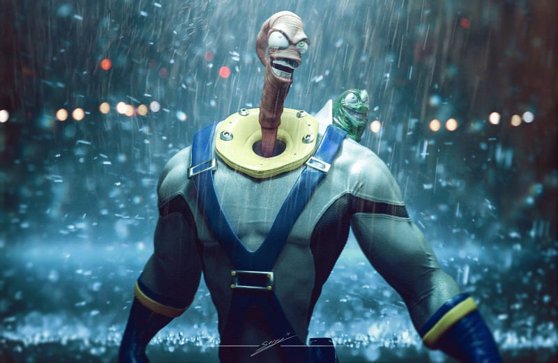 Illustration for article titled Earthworm Jim, You've Changed
