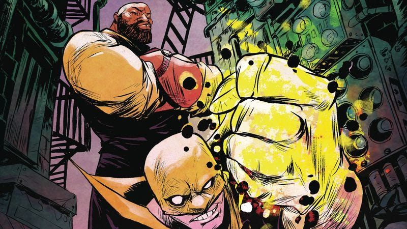 Illustration for article titled Power Man And Iron Fist is an outstanding reunion for superhero partners