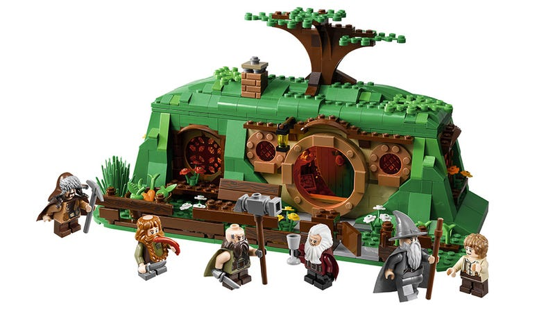 Illustration for article titled There Will Always be a Baggins Under LEGO's Bag End