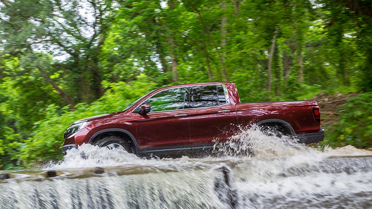 The 2017 Honda Ridgeline Is Solid, But A Little Too Much