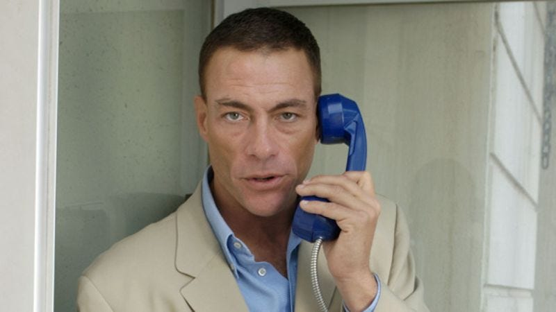 Illustration for article titled Jean-Claude Van Damme