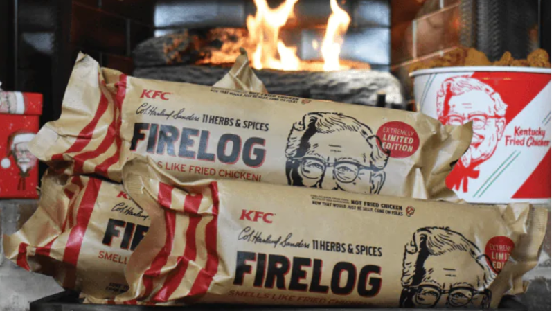 KFC 11 Herbs and Spice Fire Log