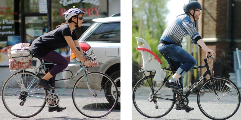 Illustration for article titled This Photo Explains the Two Basic Types of City Bikes
