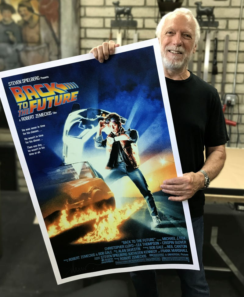 Drew Struzan's Iconic Back to the Future Poster Just Got an