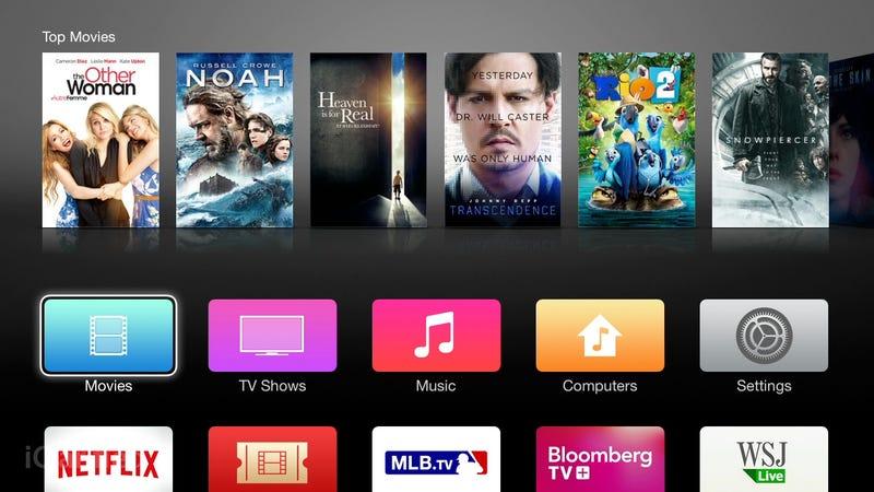 Apple TV Got a Redesign and a Beats Music App