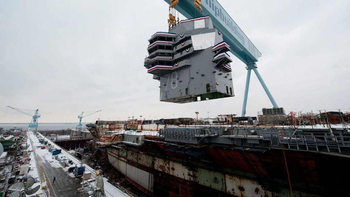 America's New $13 Billion Aircraft Carrier Is Still Far From
