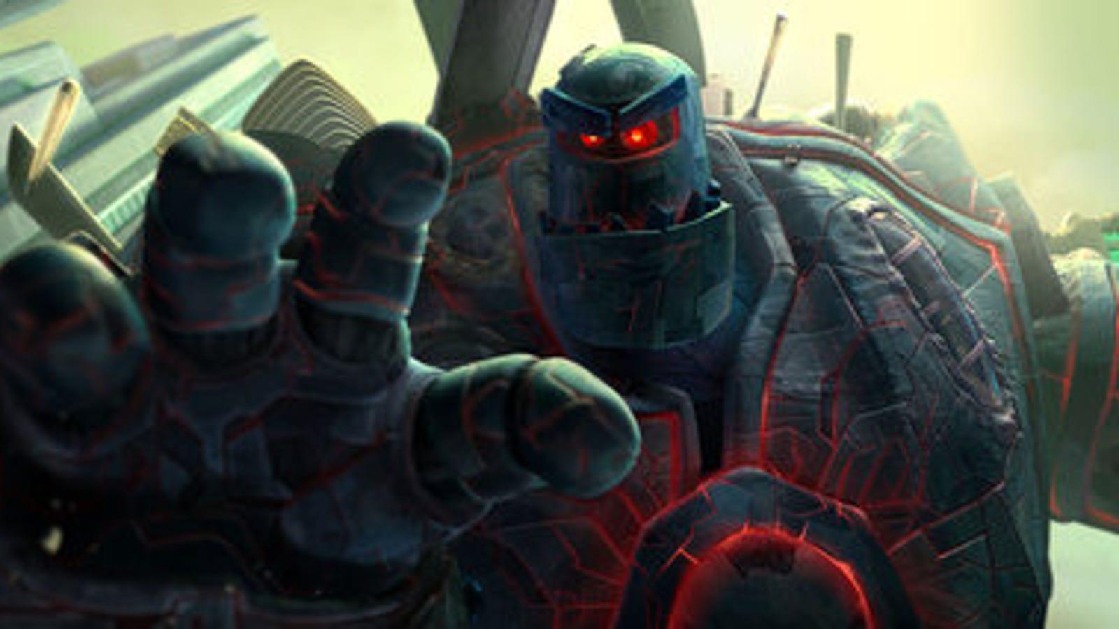 Crazy Robot Battles In New Astro Boy Clips