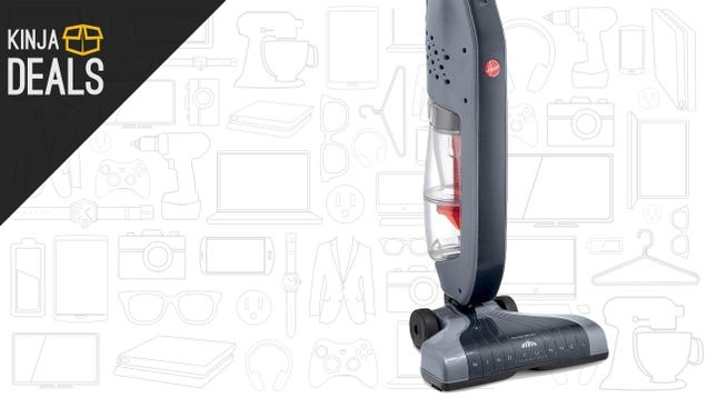 The Simple-But-Powerful Hoover Cyclonic Stick Vacuum Is Just $65 Today