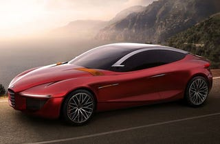"""Illustration for article titled Rejoyce! Alfa Romeo's New Rear-Drive Platform is Named """"Giorgio"""""""