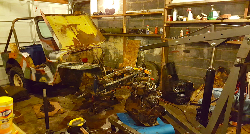Illustration for article titled My 1948 Jeep Off-Road Project Is Still Far Behind After An Epic Weekend Of Wrenching