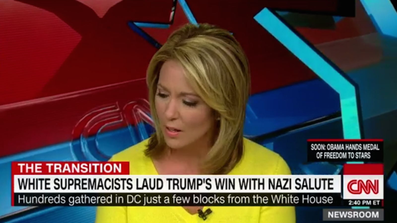 CNN Anchor Cries After Guest Says the N-Word on Air
