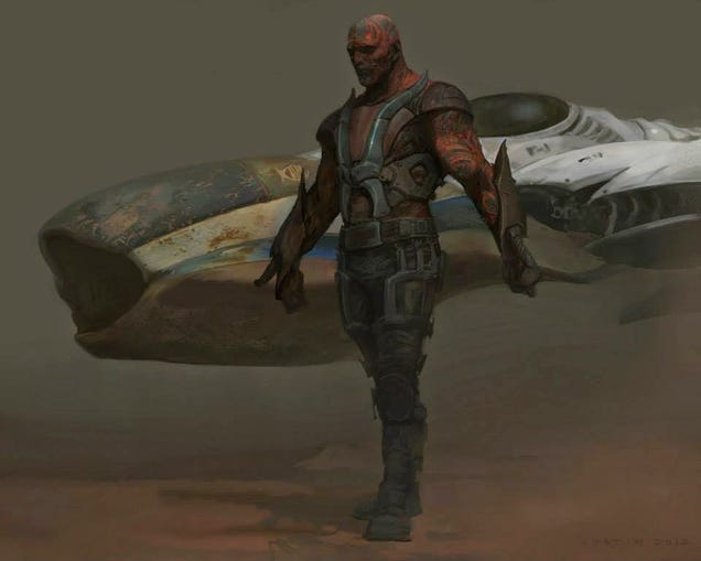 Guardians Concept Art Shows Rocket Could Have Looked Way More Grizzled