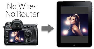 Illustration for article titled Set Up Your Digital Camera for Wireless and Router-Free iPad Tethering