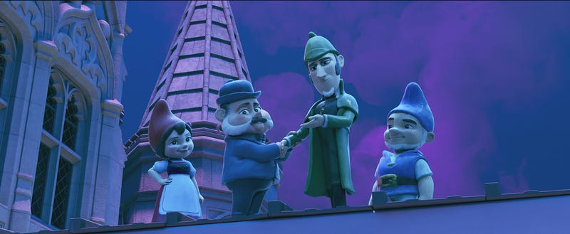Illustration for article titled The appeal of Sherlock Gnomes is strictly elementary