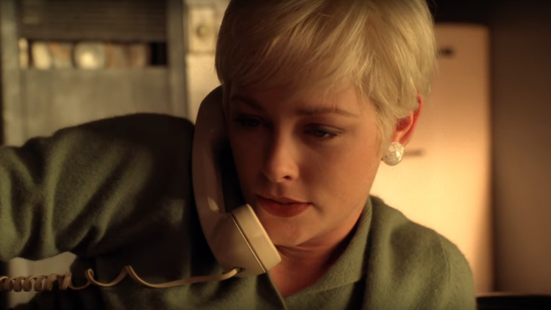 Gidley as Teresa Banks in a deleted scene from Twin Peaks