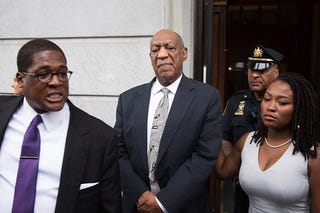 Bill Cosby, center (Kevin Hagen/Getty Images)