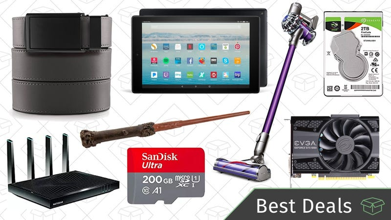 Illustration for article titled Thursday's Best Deals: Amazon Tech Sale, Ratchet Belts, Remote Control Wand, and More