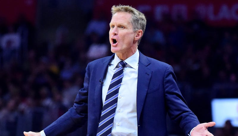 Steve Kerr's staff to coach West in All-Star Game