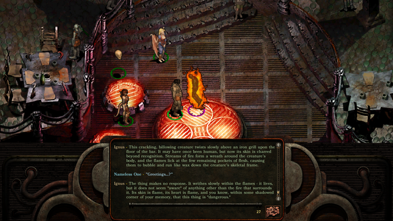 Illustration for article titled Planescape: Torment: Enhanced Edition Makes An All-Time Classic Way More Playable