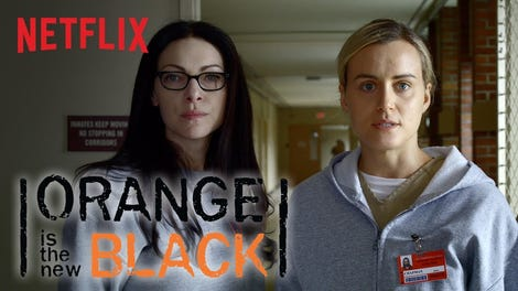 Trailer orange is the new black