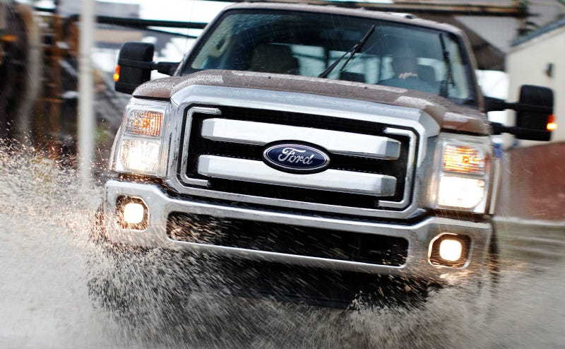 Illustration for article titled 2011 Ford Super Duty: Press Photos