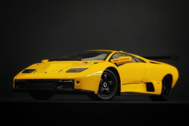 Lamborghini Diablo Gtr In 1 18 Scale By Hot Wheels