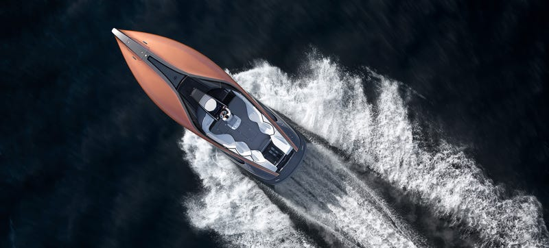 Illustration for article titled I Have A Lexus Yacht And You Don't, You Poors