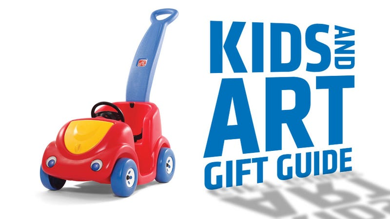 Illustration for article titled The Jalopnik Gift Guide To Car-Related Kid Toys And Car Art