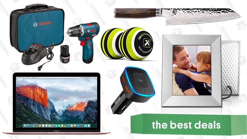 Illustration for article titled Thursday's Best Deals: MacBooks, Digital Frame, Bosch Drill, and More