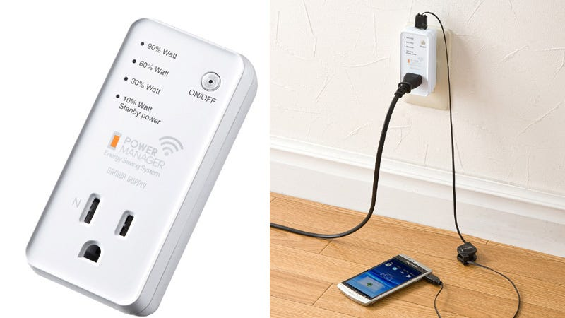 Wireless Power Monitor : Wireless power monitor snitches to your smartphone about