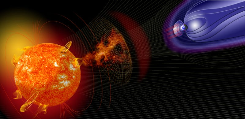 Illustration for article titled New Solar Storm Forecast Gives Over 24 Hours Warning of Disruption