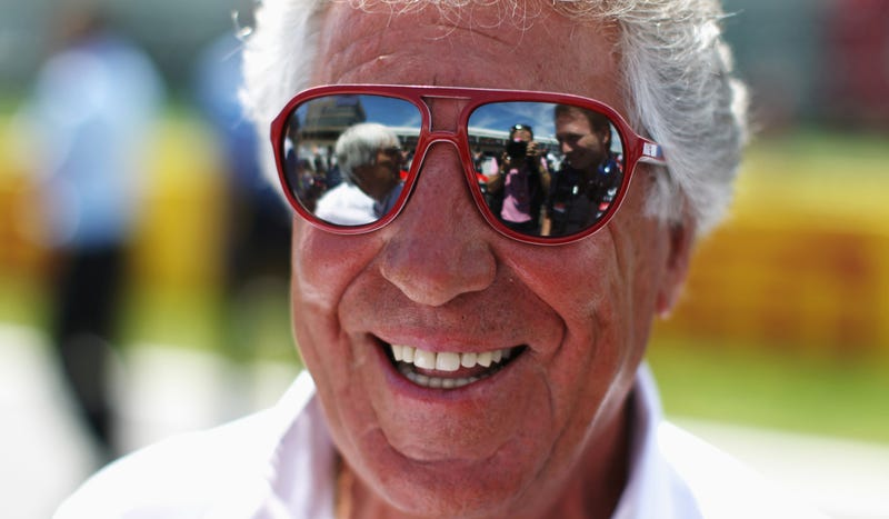 Illustration for article titled Even At 73 Years Old, Mario Andretti Is Way Cooler Than You