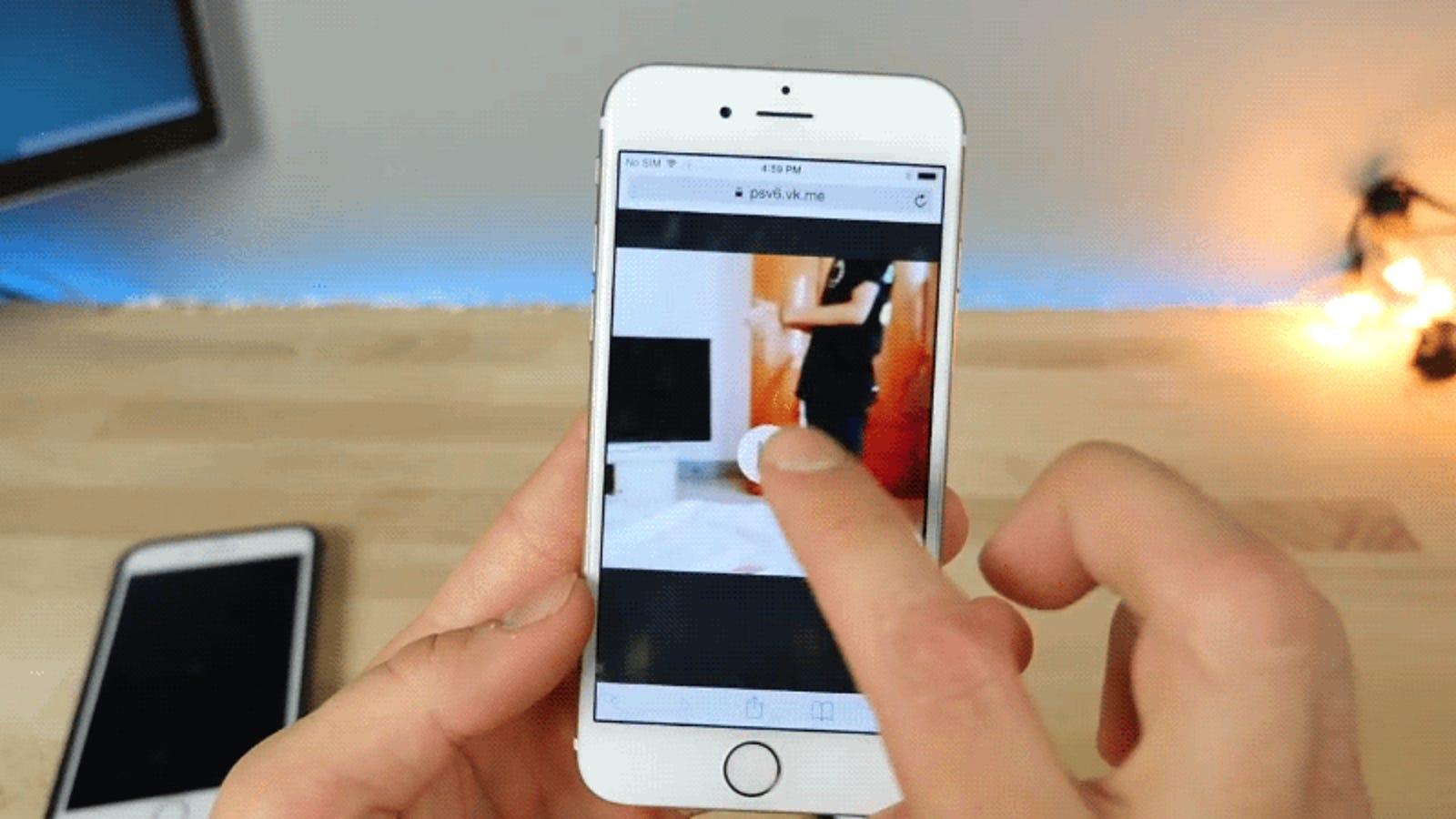Si reproduces este vídeo, tu iPhone quedará inutilizado