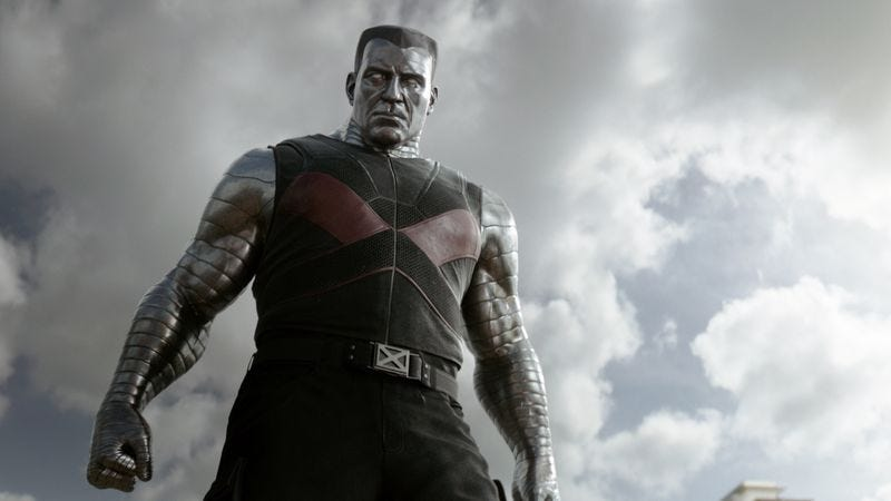 Illustration for article titled Colossus will do more than just slug Deadpool in the movie