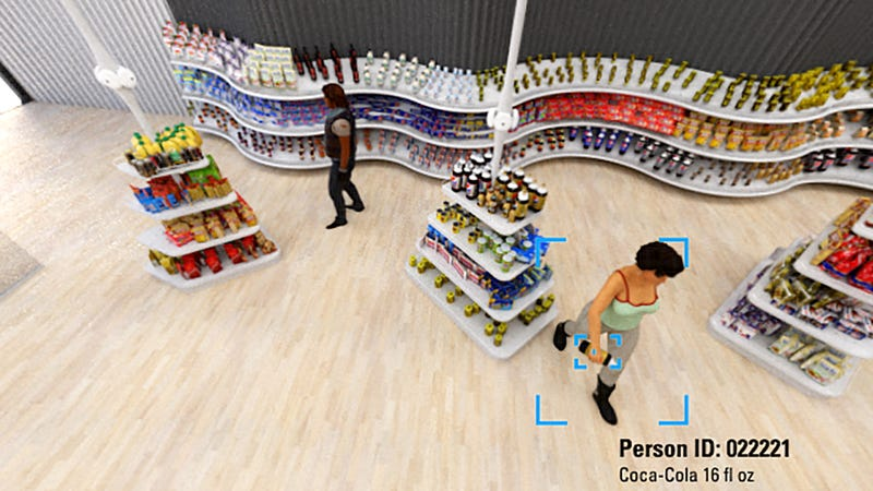 Illustration for article titled Cashier-Less Shopping Startup Takes Aim at Amazon Go With System 'Orders of Magnitude Bigger'