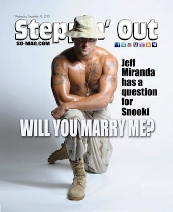 Illustration for article titled Snooki's Boyfriend Proposes On Steppin' Out Magazine Cover