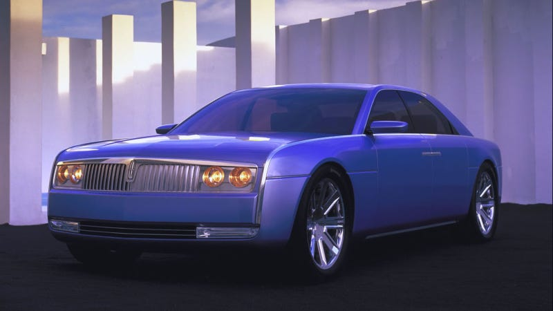 Illustration for article titled Here's What The Lincoln Continental Should Have Looked Like