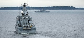 Illustration for article titled Is Sweden Hunting For A Russian Submarine In Distress Near Stockholm?