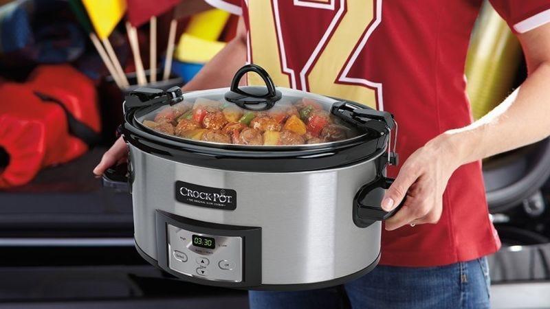 Olla Crock-Pot de cocina lenta programable, $32